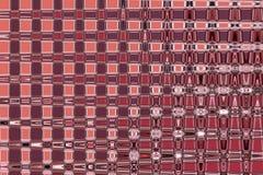 被弄脏的被加点的被构造的半透明玻璃红色猩红色颜色抽象背景  库存照片