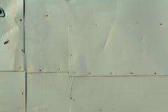 被弄脏的金属墙壁纹理样式 免版税库存图片