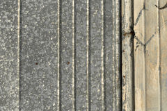 被弄脏的金属墙壁纹理样式 图库摄影