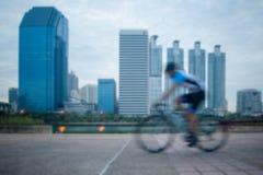 被弄脏的骑自行车 免版税库存照片