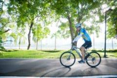 被弄脏的骑自行车 免版税图库摄影