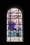 被弄脏的玻璃宗教 免版税图库摄影