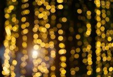 被弄脏的Bokeh闪烁圣诞节,Xmas假日 库存照片