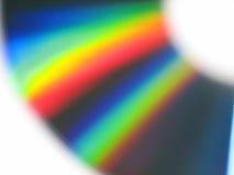 被弄脏的CD的颜色 库存图片