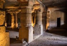被忘记的地下寺庙 免版税图库摄影