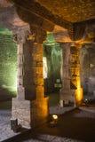 被忘记的地下寺庙 免版税库存照片