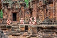 被忘记的寺庙 库存图片