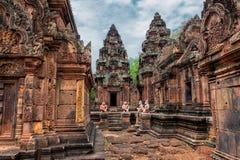 被忘记的寺庙 免版税库存照片