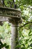 被忘记的庭院风景 免版税库存照片