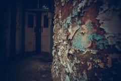 被忽视的被放弃的医院 免版税图库摄影