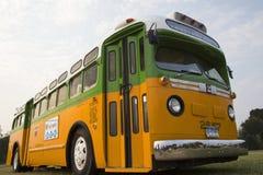 被恢复的公共汽车罗莎・帕克斯 免版税库存照片