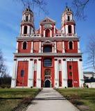 被恢复的圣徒雅各布教会 免版税库存图片