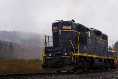 被恢复的巴尔的摩和俄亥俄铁路机车-西维吉尼亚 免版税库存图片
