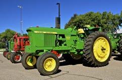 3020被恢复的约翰Deere拖拉机 免版税库存图片