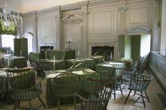 被恢复的聚会厅, 免版税库存图片