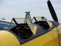 被恢复的费尔柴尔德PT-19教练员飞机 免版税库存图片