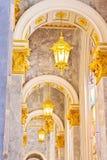 被成拱形的光 免版税图库摄影