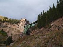 被成拱形的桥梁科罗拉多 免版税库存照片