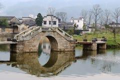被成拱形的桥梁 免版税库存图片