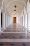 被成拱形的走廊 免版税图库摄影