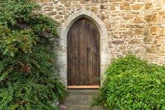 被成拱形的门道入口 免版税库存照片