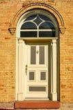 被成拱形的门 免版税库存图片
