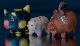 被手工造的墨西哥玩具 免版税库存照片