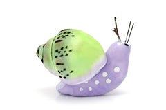 被手工造的蜗牛 免版税库存照片