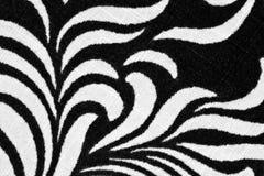 被打印的织品花卉 免版税库存照片