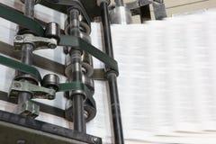 被打印的设备 免版税库存照片