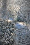 被打碎的玻璃 免版税库存照片