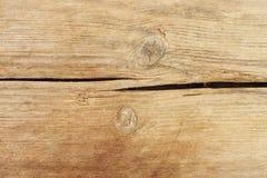 被打结的木头 库存照片