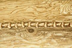 被打结的木纹理背景 免版税图库摄影