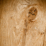 被打结的木纹理背景 免版税库存照片