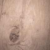 被打结的木纹理背景 免版税库存图片