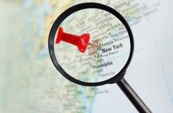 被扩大化的纽约 免版税图库摄影