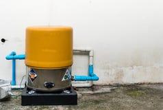 被找出的水泵 库存照片
