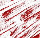 被抓或飞溅的液体红旗 库存图片