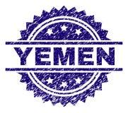 被抓的织地不很细也门邮票封印 向量例证