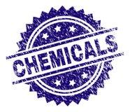 被抓的织地不很细化学制品盖印封印 向量例证