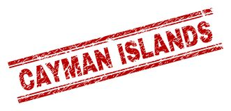 被抓的织地不很细开曼群岛邮票封印 皇族释放例证