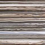 被折叠的报纸 免版税库存图片