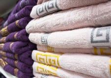 被折叠的毛巾 免版税图库摄影