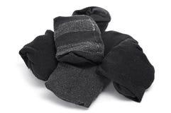 被折叠的袜子 免版税库存图片