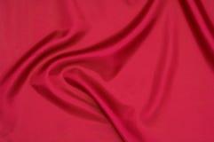 被折叠的部分丝绸纺织品 免版税库存图片