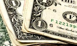 被折叠的货币 免版税图库摄影