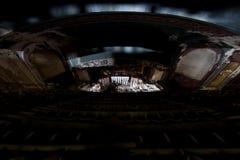 被抛弃的普罗克特的宫殿剧院-纽瓦克,新泽西 图库摄影