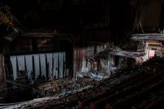 被抛弃的普罗克特的宫殿剧院-纽瓦克,新泽西 库存图片
