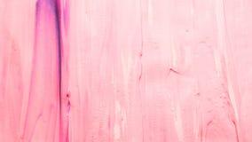 被抹上的桃红色油漆背景紫色飞溅声 免版税库存图片