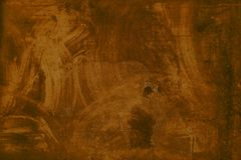 被抹的棕色难看的东西纹理 图库摄影